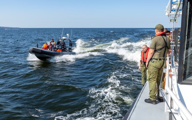 PPA maritime rescue units on exercise