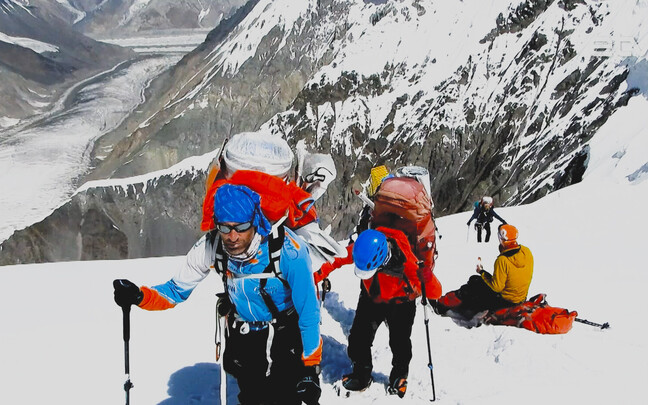 Эстонские альпинисты взошли на Пик Победы.