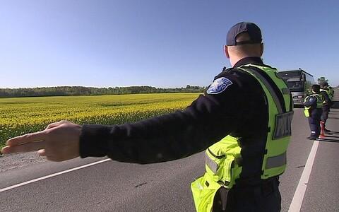 Эстонские власти регулярно проводят проверки водителей на трезвость.