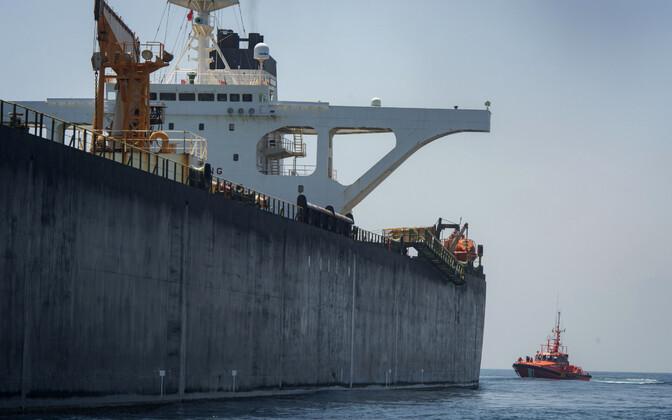 Задержанный иранский танкер Grace1 покинул Гибралтар.