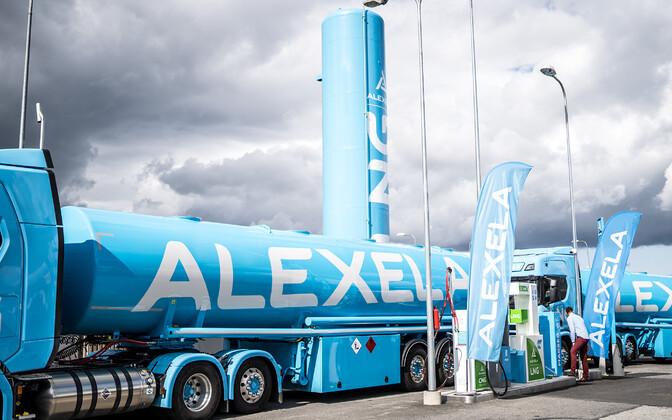 Alexela активно инвестирует в строительство газовых заправок.