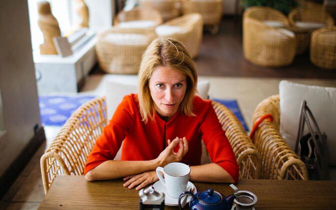 Reform Party chairwoman Kaja Kallas.
