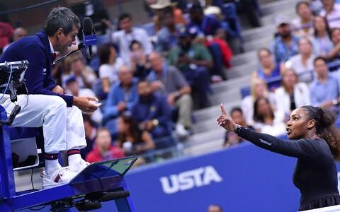 Serena Williams ja Carlos Ramos 2018. aasta US Openi finaalis