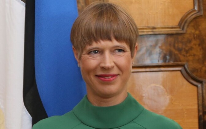 President Kersti Kaljulaid will work in south east Estonia for a week.