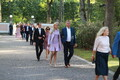 President's reception at the Kadriorg Palace Rose Garden on Aug. 20.