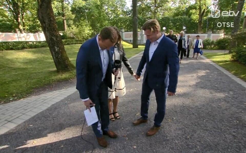 Marko Reikop ja Uudo Sepp