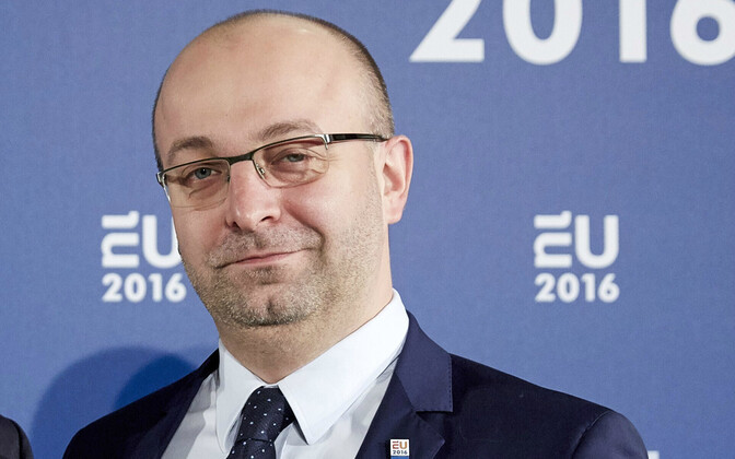 Poola asejustiitsminister Lukasz Piebiak.