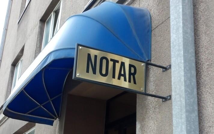 В Эстонии доход нотариуса превышает доход государственного судьи в 3-15 раз. Иллюстративная фотография.
