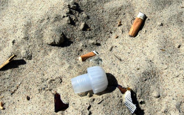 Suitsukonid Pirita rannas