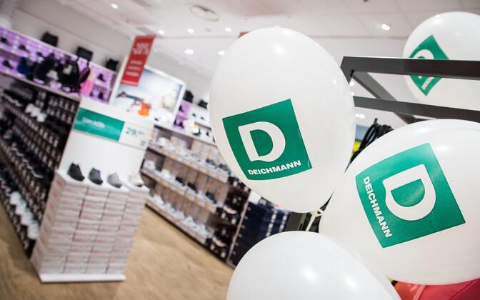 Footwear chain Deichmann opened its first Estonian store in Nautica keskus on Thursday