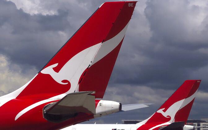 Lennufirma Qantas.
