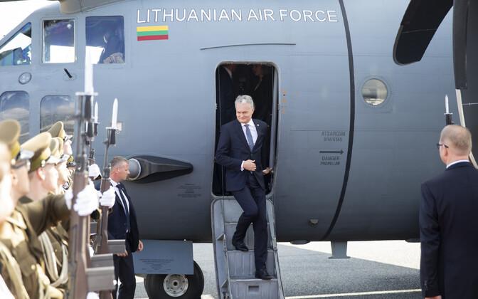 President Nauseda sel nädalal Eestisse saabumas.