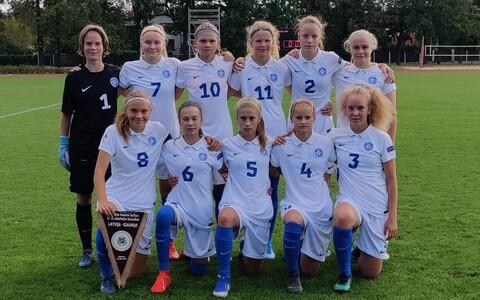 Eesti U-15 neidude jalgpallikoondis