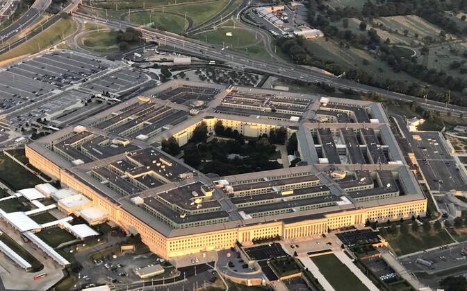 USA kaitseministeeriumi peahoone Pentagon.