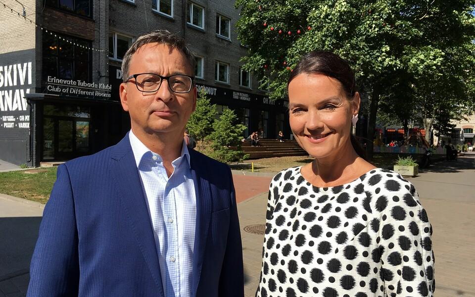 Margus Saar ja Katrin Viirpalu