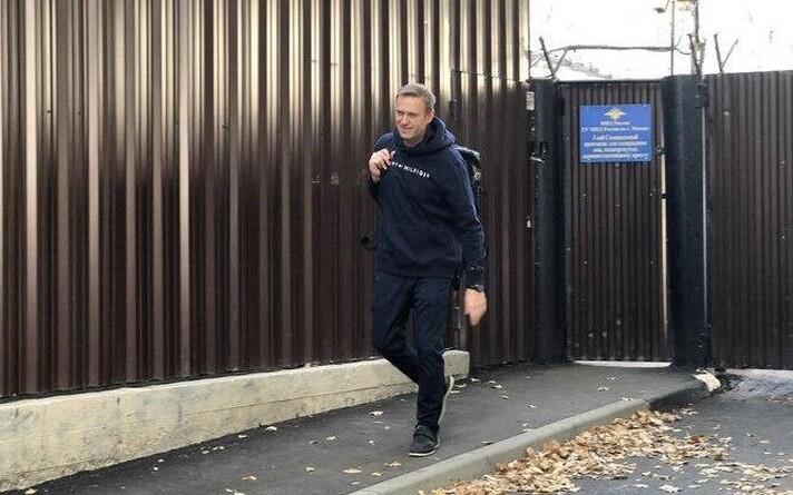 Алексей Навальный 23 августа вышел из спецприемника после отбытия административного ареста.