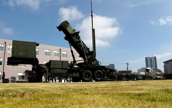 Raketisüsteem Patriot.