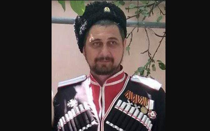 Donbasi Kremli-meelne võitleja Jevgeni Podoljan.