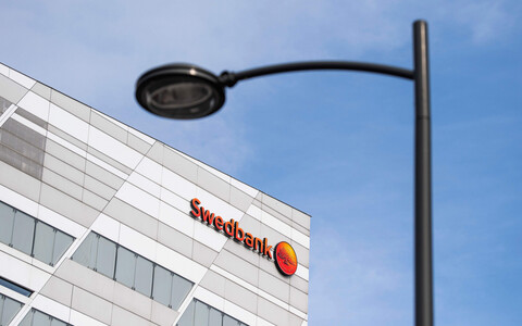 Swedbank headquarters in Stockholm.
