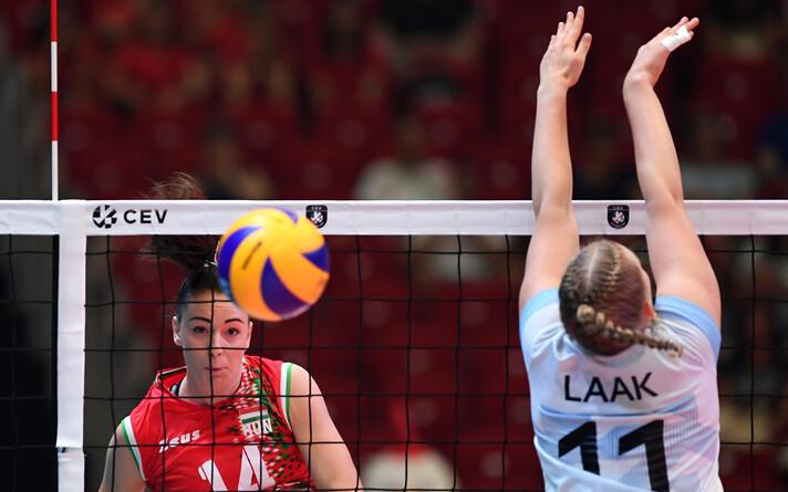 ЧЕ по волейболу: Эстония - Венгрия.