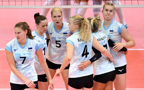 Eesti naiste võrkpallikoondis EM-il.