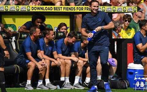 Frank Lampard ja Londoni Chelsea
