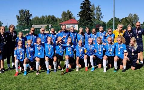 Eesti neidude U-15 jalgpallikoondis