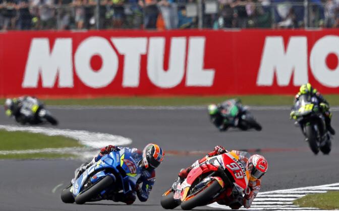 Alex Rins ja Marc Marquez Briti MotoGP etapil
