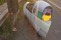 Inglise liikluspolitseinikud kohtusid ebatavalise sõiduvahendiga.