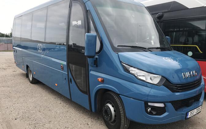 С 1 сентября уездные маршруты в Валгамаа обслуживают новые автобусы.