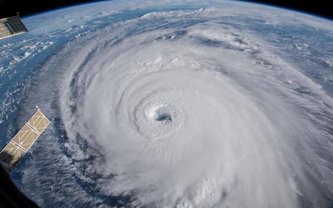Orkaan Florence 2018. aastal Atlandi ookeani kohal.