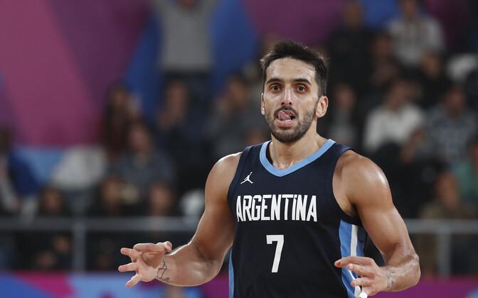 Argentina korvpallikoondise mängujuht Facundo Campazzo
