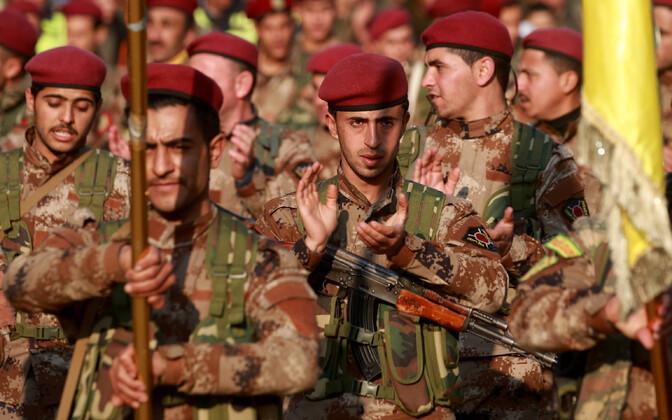 YPG võitlejad.