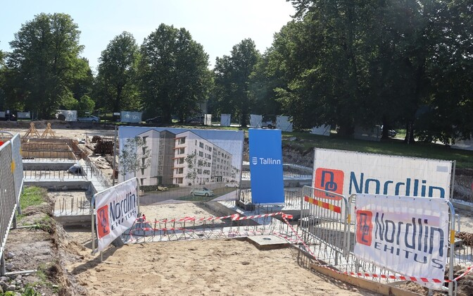 Строительство муниципального дома для пенсионеров.