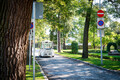 The driverless bus which started operating in Kadriorg Park Wednesday.