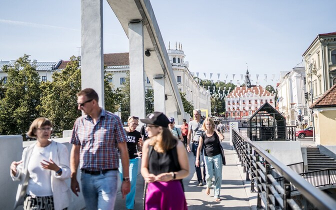 The European Capital of Culture 2024 jury visited various neighborhoods, locales, establishments and attractions in Tartu.