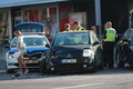Politseiauto sattus liiklusõnnetusse.