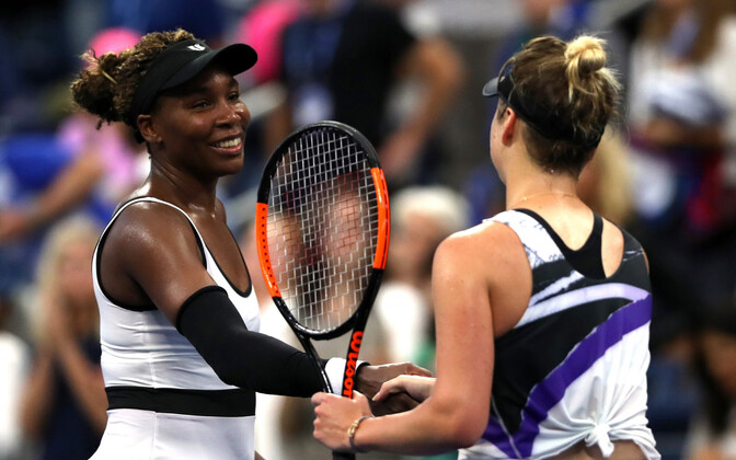 Venus Williams ja Elina Svitolina