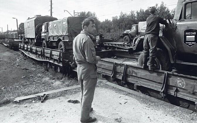 Последние российские военные оставили Эстонию 31 августа 1994 года.