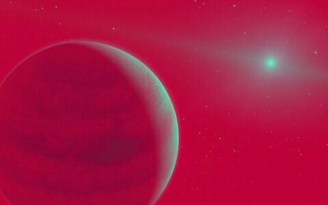Kauge planeedi on massilt kolm korda suurem kui Jupiter.