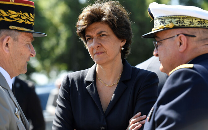 Sylvie Goulard 2017. aastal Prantsuse kaitseministrina.