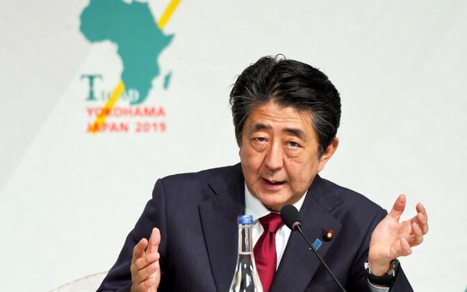 Jaapani peaminister Shinzo Abe.