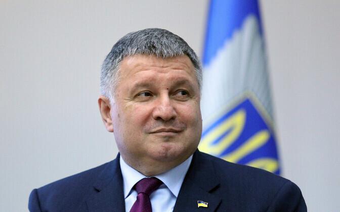 Ukraina siseminister Arsen Avakov.