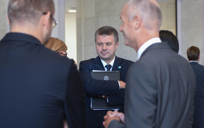 Foreign Minister Urmas Reinsalu at an informal meeting of European Union foreign ministers in Helsinki.