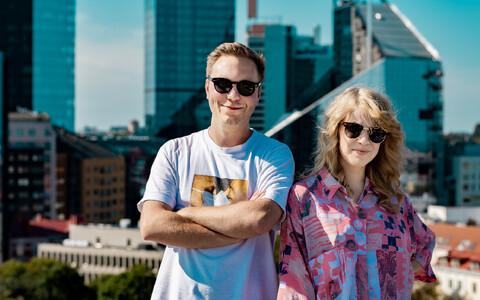 Johanna Tenso ja Richard Pohjanheimo