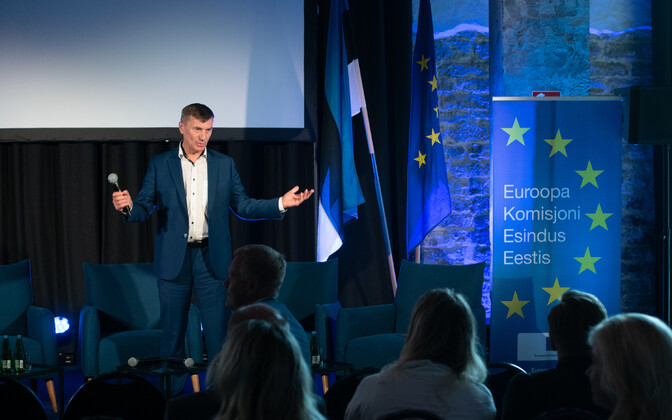 Reform Party MEP Andrus Ansip.