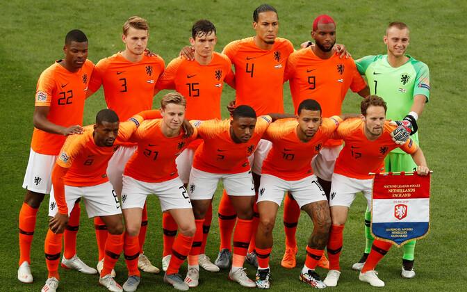Hollandi meeste jalgpallikoondis