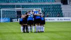 Женская сборная Эстонии по футболу крупно проиграла Голландии.