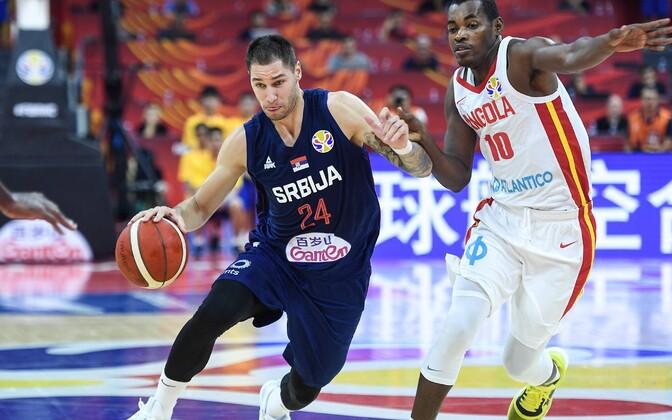 Serbia - Angola korvpalli MM-il