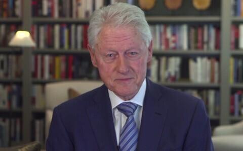 USA ekspresident Bill Clinton Eesti rahvast õnnitlemas.